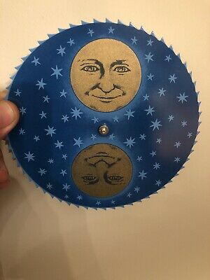 Moon Phase Dial Face Clock Parts Repair Replacement Moonphase Grandfather