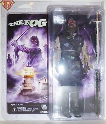"CAPTAIN BLAKE The Fog (1980) 8"" Clothed Action Figure w/ Light-Up Eyes Neca 2018"