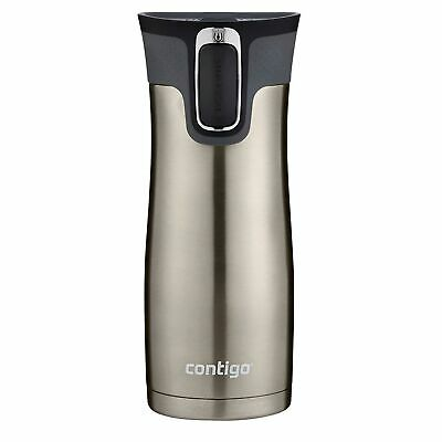 Contigo AUTOSEAL West Loop Insulated Travel Mug 16oz Brushed Stainless (2-PACK)