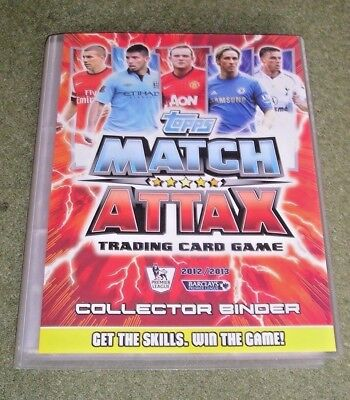 Topps Match Attax 2012/2013 - Complete Base Set, 100 Club, Legends, MOM ETC...