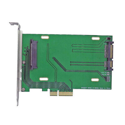 4 Lane to Kit NVMe U.2 PCI-e 3.0 X16 to SFF-8639 Controller Support NVMe device