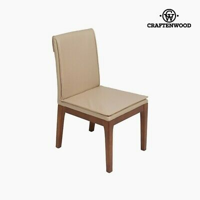 Silla Polipiel Beige (50 x 59 x 90 cm) by Craftenwood
