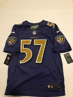 online store 4712d 4e984 NIKE BALTIMORE RAVENS Jersey #82 Torrey Smith NFL Purple ...