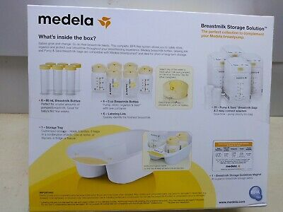 Medela Breast Milk Storage Solution Set White