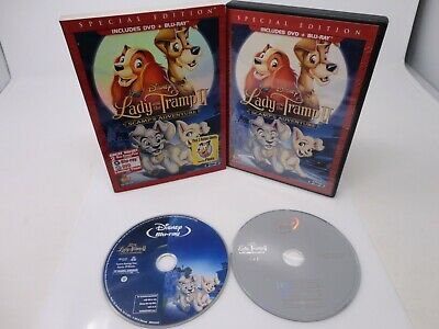 Disney's Lady & The Tramp 2 II Scamp's Adventure DVD & Blu Ray