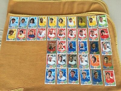 Match Attax World Cup 2010 Int Legends Full Complete Set 38 Base Cards & Stars