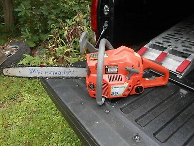 HUSQVARNA 55 AIR Injection Chainsaw Parts or Repair - $75 00
