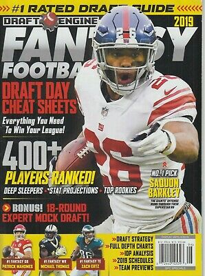 Draft Engine Fantasy Football 2019 Saquon Barkley