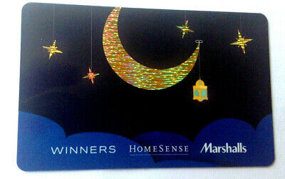 """WINNERS HOMESENSE Gift Card """""""" COLLECTIBLE NO VALUE BILINGUAL"""