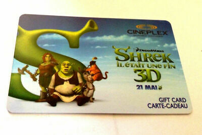 Cineplex POPCORN Gift Card New No Value BILINGUAL RECHARGEABLE!