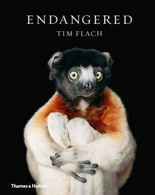 Endangered: (Compact Edition) by Tim Flach Hardcover Book Free Shipping!