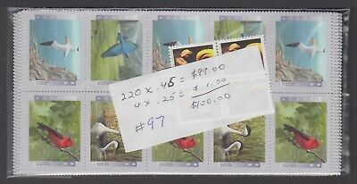 Canada Mint Nh Postage Lot $100.00 Face For $70.00 See List #97