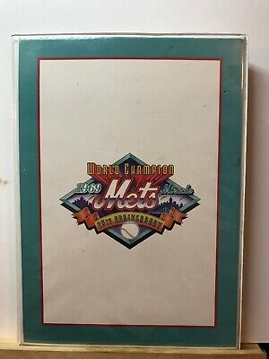 '69 Miracle Mets Collector Edition Prepaid Telephone Calling Cards x31s w/ Case