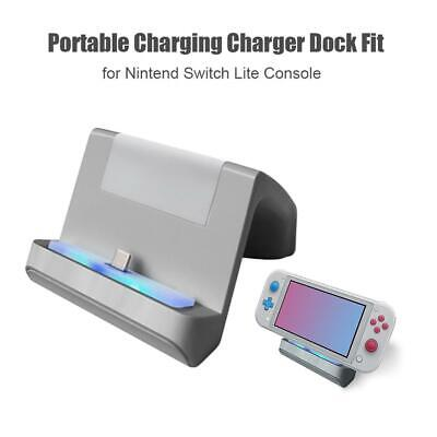 For Nintendo Switch Lite Console Charger Charging Dock Station Stand Portable