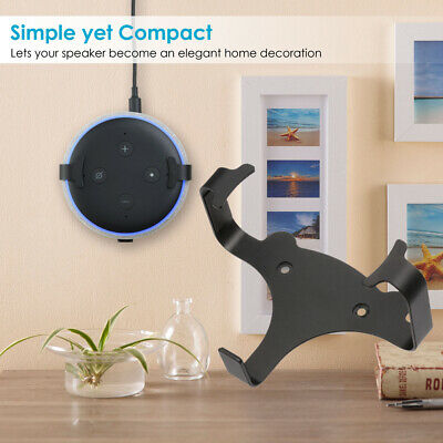 Wall Mount Stand Hanger For Google Home Mini Voice Assistant Speaker Fit US Plug