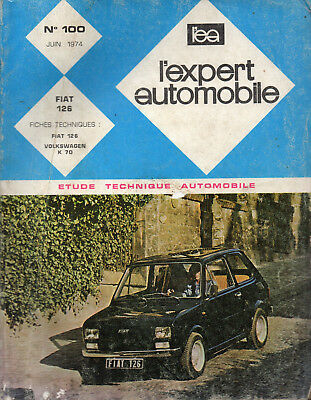 RTA revue technique automobile  n° 100 FIAT 126