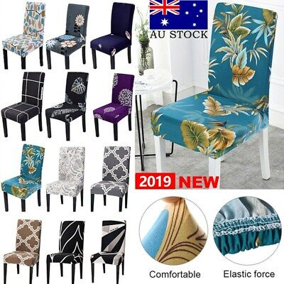 Stretch Spandex Chair Covers Removable Slipcovers Seat Cover Dining Party