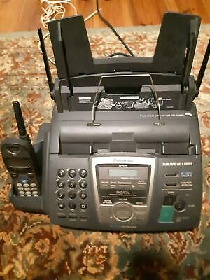 Panasonic answering and fax machine
