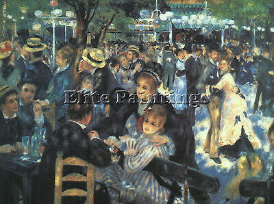 Renoir 31 Artist Painting Reproduction Handmade Oil Canvas Repro Wall Art Deco