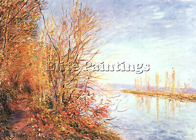 Sisley 12 Artist Painting Reproduction Handmade Oil Canvas Repro Wall Art Deco