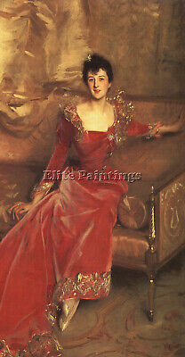 Sargent 47 Artist Painting Reproduction Handmade Oil Canvas Repro Wall Art Deco