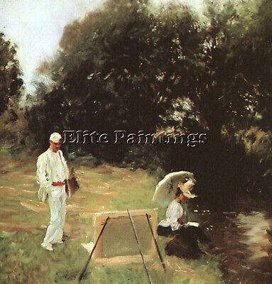 Sargent 3 Artist Painting Reproduction Handmade Oil Canvas Repro Wall Art Deco