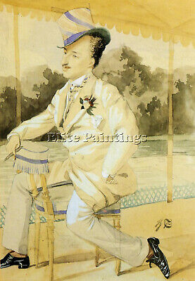 Tissot James Jacques A Dandy Artist Painting Reproduction Handmade Oil Canvas
