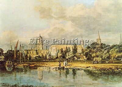 Turner South View Christ Church Meadows Artist Painting Oil Canvas Repro Art