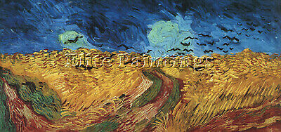 Van Gogh Vincent Wheatfield With Crows Artist Painting Reproduction Handmade Oil
