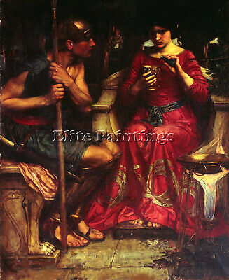 John William Waterhouse Jason Medea Fr Artist Painting Oil Canvas Repro Art Deco