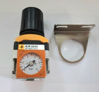 Air Pressure Regulator c/w with Built in Gauge  for compressors, Spray Systems