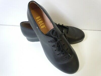 Children's Leather Tap Shoes by Bloch.  Black, laced, size 6