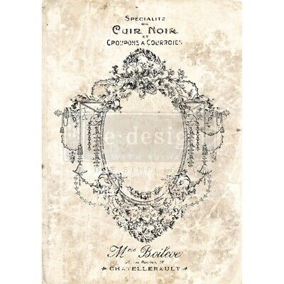 "Prima Re-design Decor Transfer-antique Imprint 24""x34"""