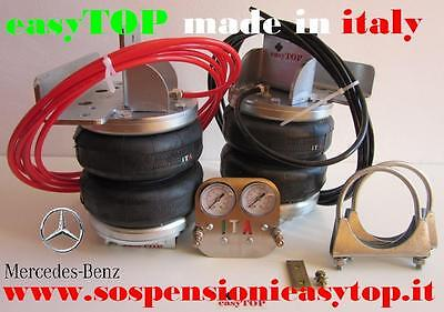 PNEUMATIC AIR SUSPENSION KIT airspring CAMPER VAN MERCEDES SPRINTER double wheel