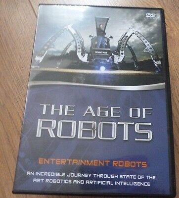 The Age Of Robots*Entertainment Robots*Dvd*Documentary