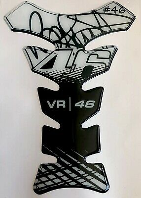 V ROSSI THE DOCTOR VR 46 TANKPAD * AWESOME NEW White & Black