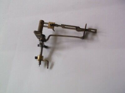 Escapement Leader Arm Etc  From An Old 4X4  Mantle Clock  Ref Vic 78