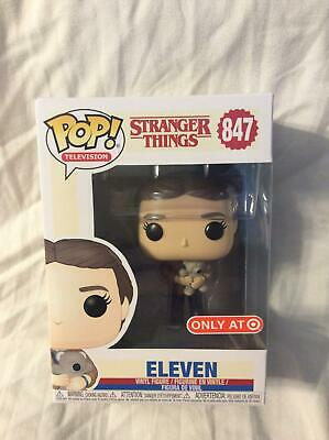 Funko POP! Stranger Things Eleven w/ Bear #847 Target Exclusive In Hand