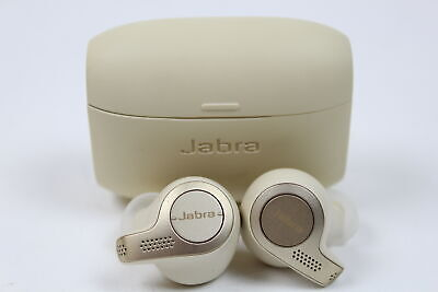 Jabra Elite 65t Alexa Enabled True Wireless Earbuds with Charging Case – Gold