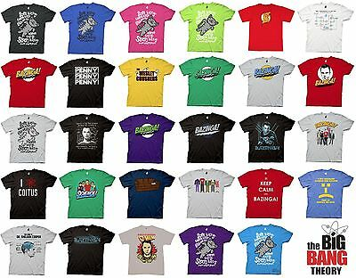 The Big Bang Theory Choose T Shirt Bazinga Sheldon Kitty