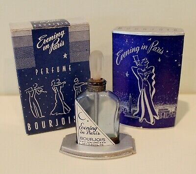 ** Bourjois Evening In Paris  Commercial Perfume Presentation ** Boxed ** Bin **
