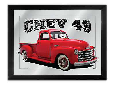 Bar Mirror Suit Red 1949 Chevrolet Pick Up Other Colours Available