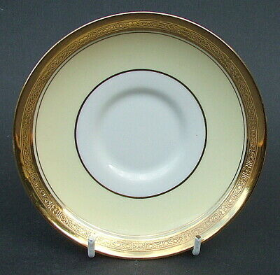 Vintage 1930's Paragon G2512 Richly Gilded Tea Cup Saucers Only - Look in VGC