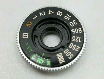 CANON AE-1 FILM ISO SHUTTER SPEED DIAL (other parts available)