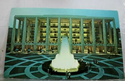 New York NY NYC Lincoln Center Performing Arts Postcard Old Vintage Card View PC