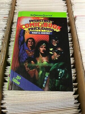 Overstreet Comic Book Price Guide 26 1996 Hardcover