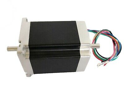 【EU Free Ship】LONGS Nema23 Stepper Motor 23HS8630B Dual Shaft 270oz-in 3.0A 76mm