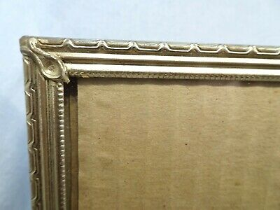 Vintage Picture Frame Mid Century Modern Hollywood Regency Rococo Gold Tone 7X9