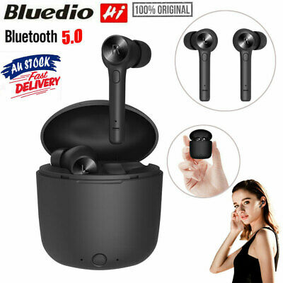 Bluedio Hi TWS Wireless BT5.0 Earphones In Ear Stereo Sports Earbuds Headset MIC