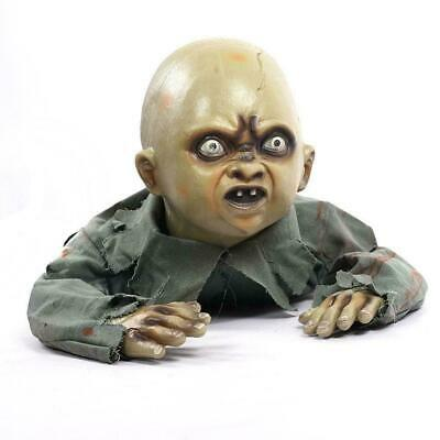 Halloween Crawling Ghost Zombie Baby Prop Horror House HOT Haunted Party ZY U7W8